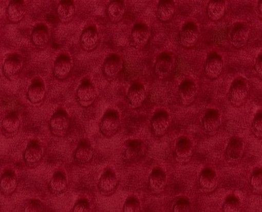 Crimson Minky Swatch