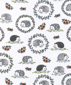 Hedgehogs Flannel Swatch