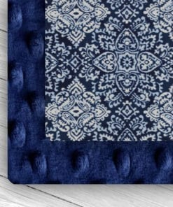 custom weighted blanket combo midnight/blue lace