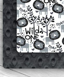 Custom Weighted Blanket Ash/Wild One Combo