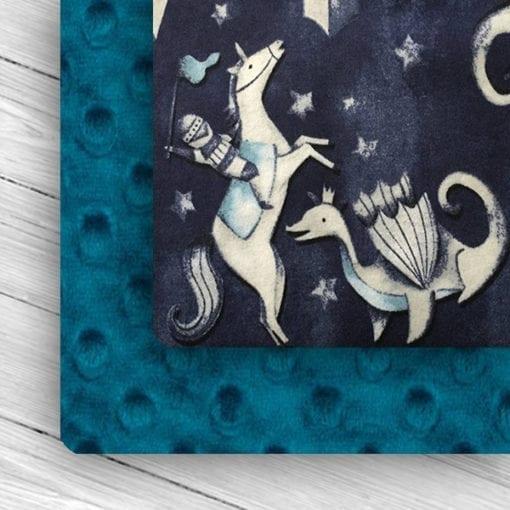 Custom Weighted Blanket Mallard/Knights Combo