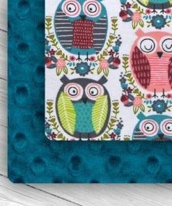 Custom Weighted Blanket Mallard/Owls Combo
