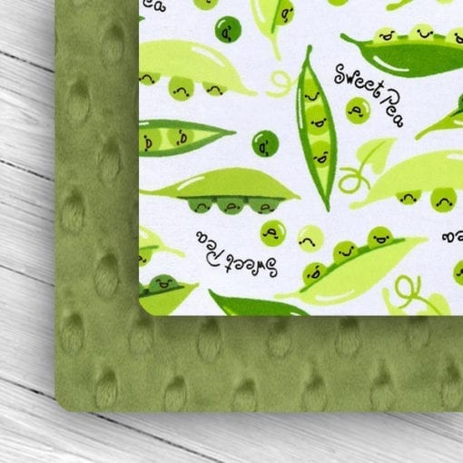 Custom Weighted Blanket Kiwi/Sweet Pea Combo